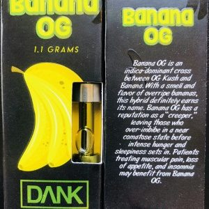 Banana og dank Cartridges